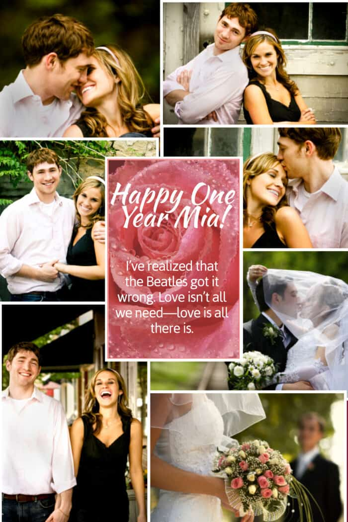 Copy of Romantic Photo Collage Template