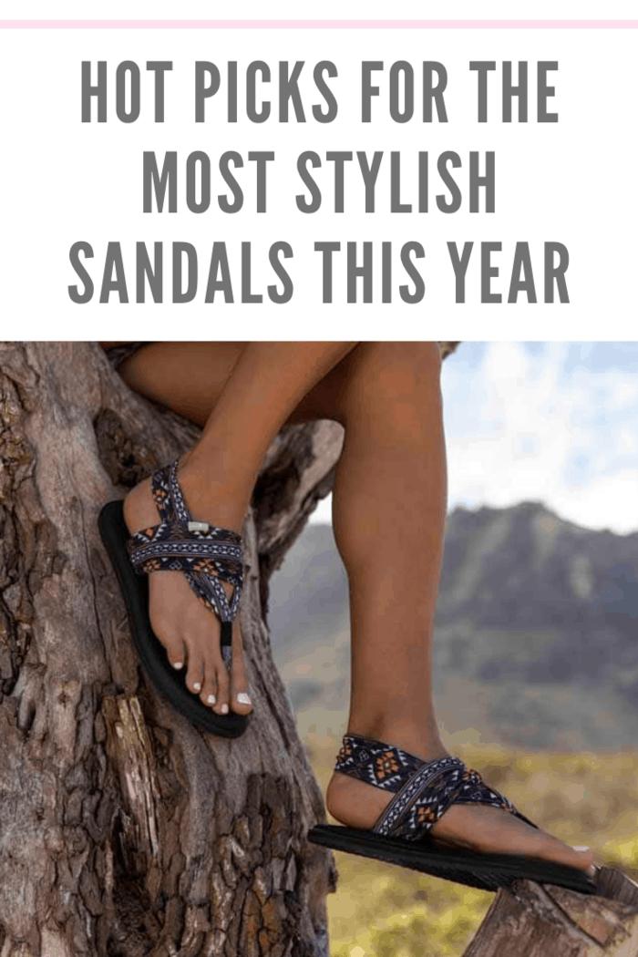 Sanuk Yoga Sling most stylish sandals this year