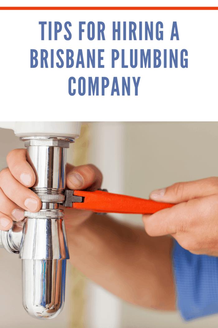 a brisbane plumbing expert adjustment of a pipe