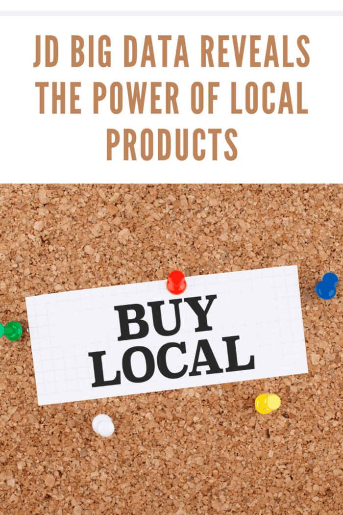 Buying from local markets concept, support for local marketing background.