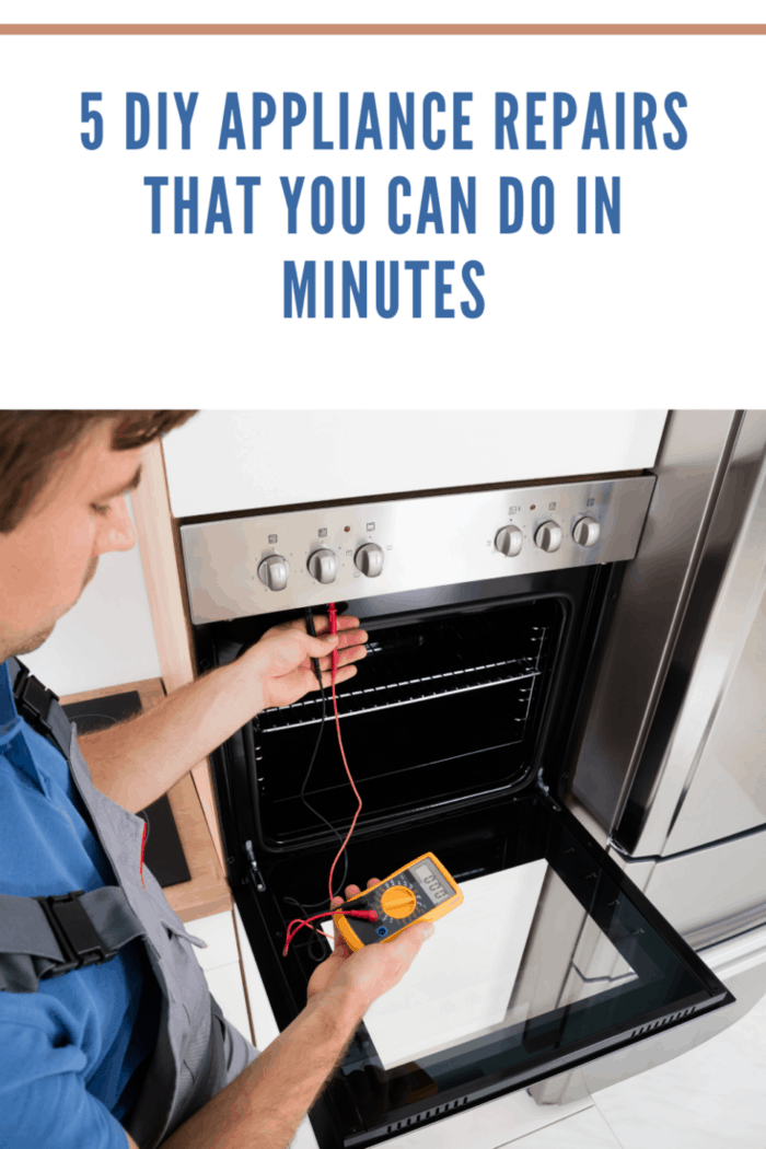 Checking Oven With Digital Multimeter