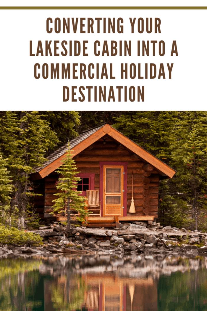Cabin along the edge of Lake O'hara in Yoho National Park, British Columbia, Canada