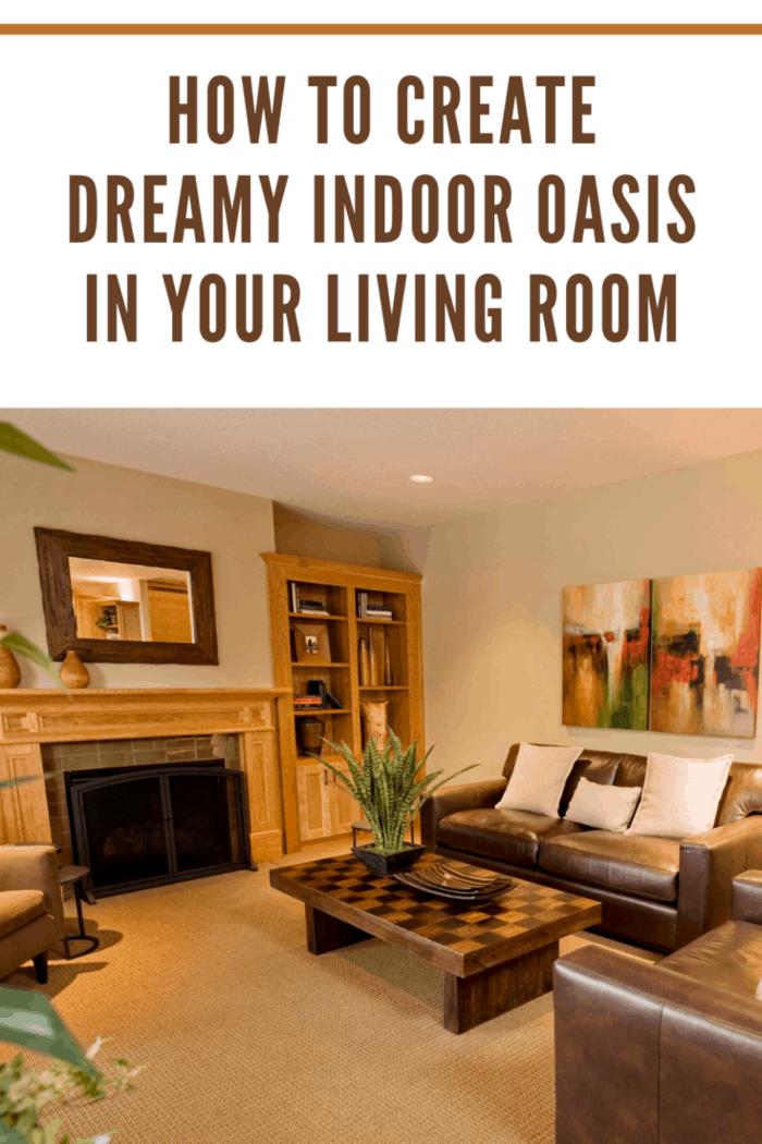 Living room oasis