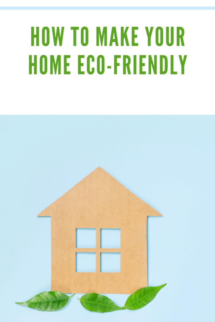 Eco-friendly home concept