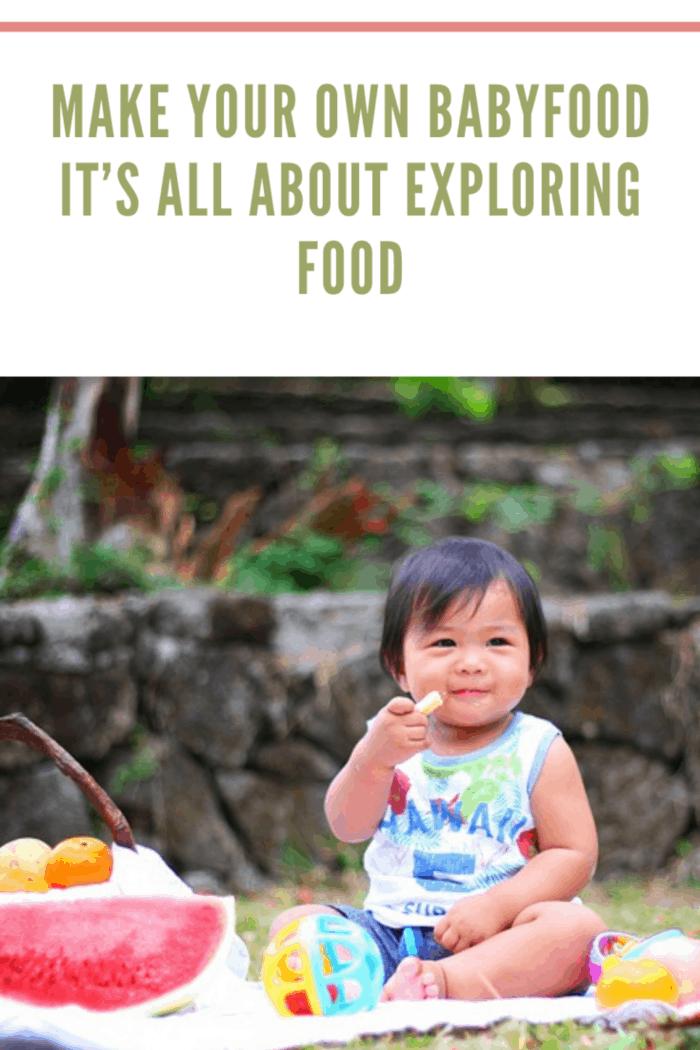 baby Exploring Food
