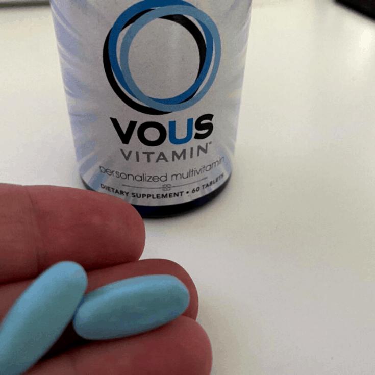 vous vitamin up close