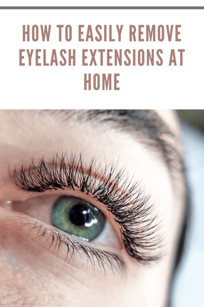 lash extensions in beauty salon macro eye top view .permanent make up