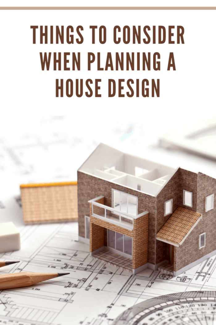 Taking the model and drawings for residential construction