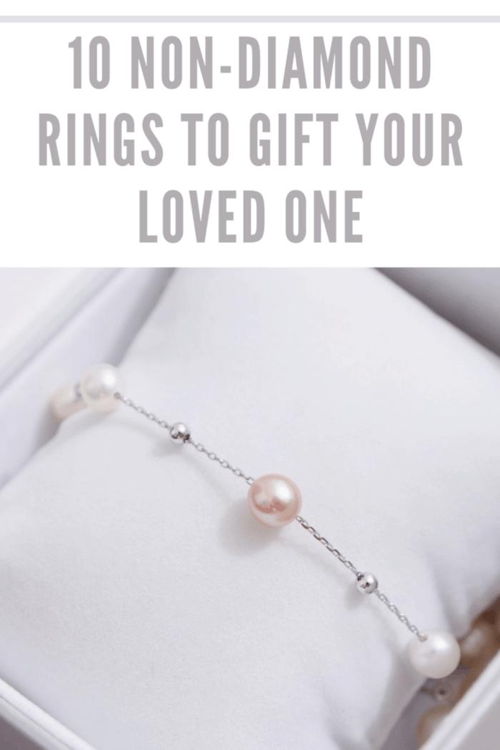 pearl bracelet in box