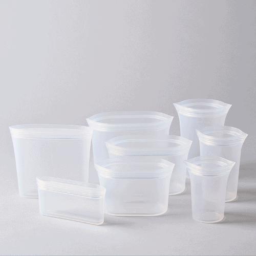 zip top containers