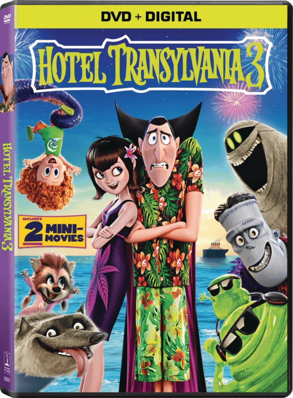 Hotel Transylvania 3 DVD FrontLeft