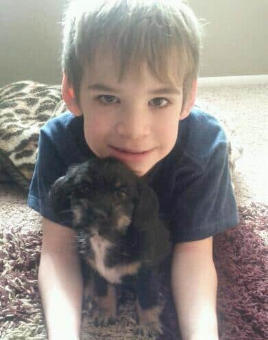 william with Bailey Mae