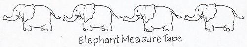 elephant measuring tape