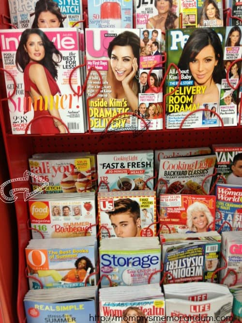 All you magazine Target end cap