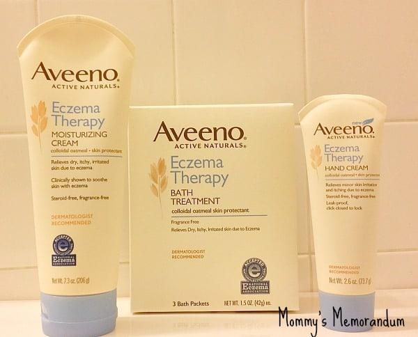 AVEENO Eczema Therapy and Tips • Mommy's Memorandum