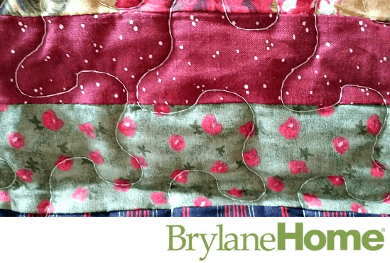 Brylane Home Virginia Quilt closeup