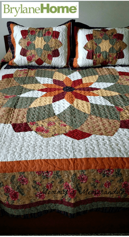 Welcome Fall With Brylane Home S Virginia Quilt Mommy S