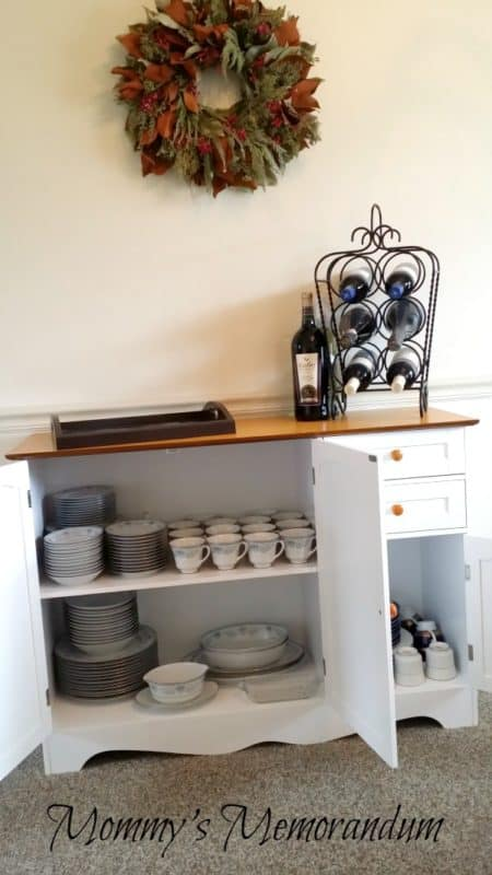 BrylaneHome Country Kitchen Buffet