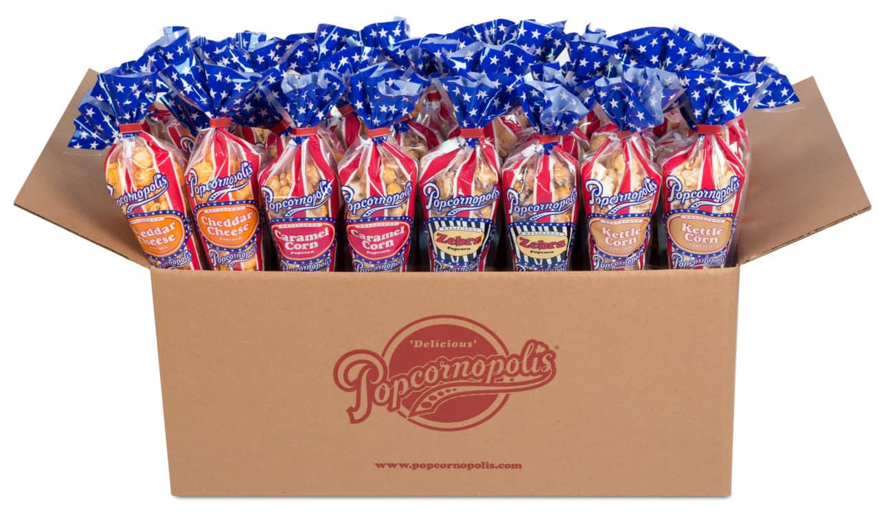 Popcornopolis Special Edition Patriotic Packaging