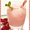 Candy Cane Cooler #Cocktail #Recipe