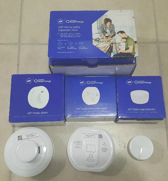 Contents of the ADT home expansion kit