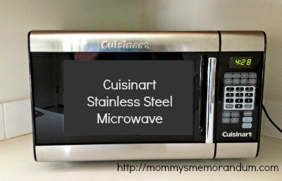 Cuisanart stainless steel microwave