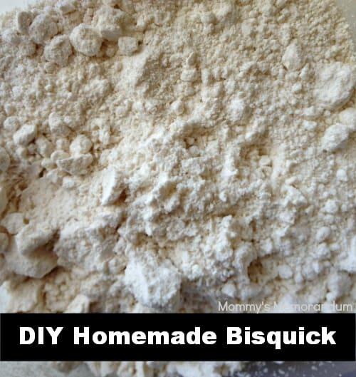 #DIY Homemade Bisquick Mix #Recipe #EASY