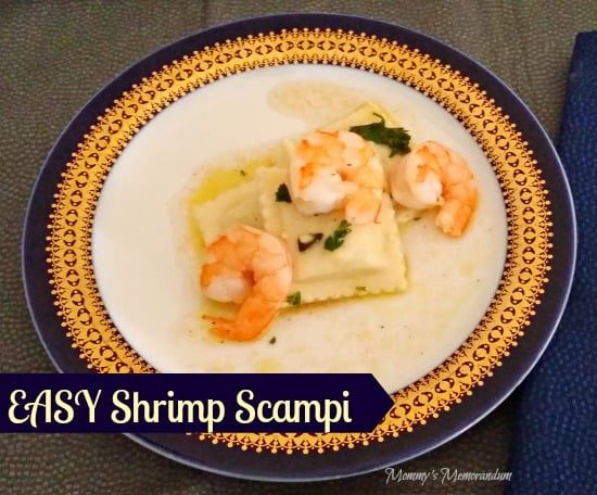 This Shrimp Scampi recipe is fast and super easy. My kiddos will do almost anything for a bite of it.