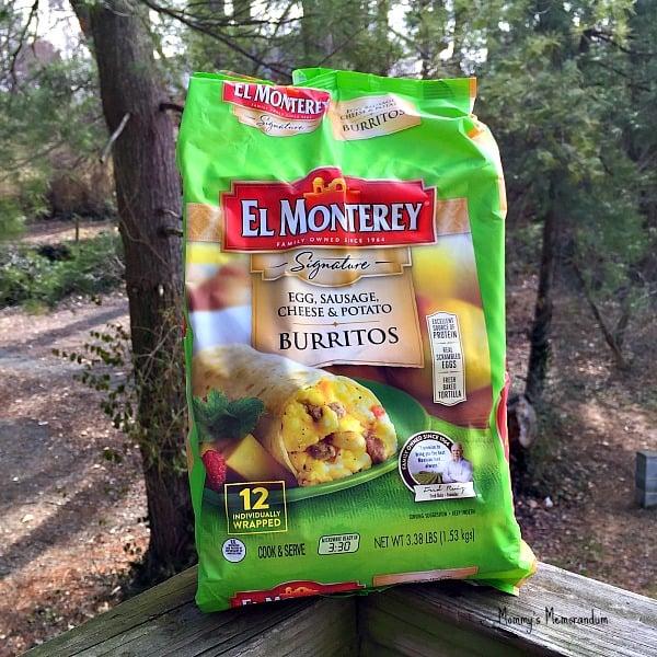 El Monterey signature breakfast burritos