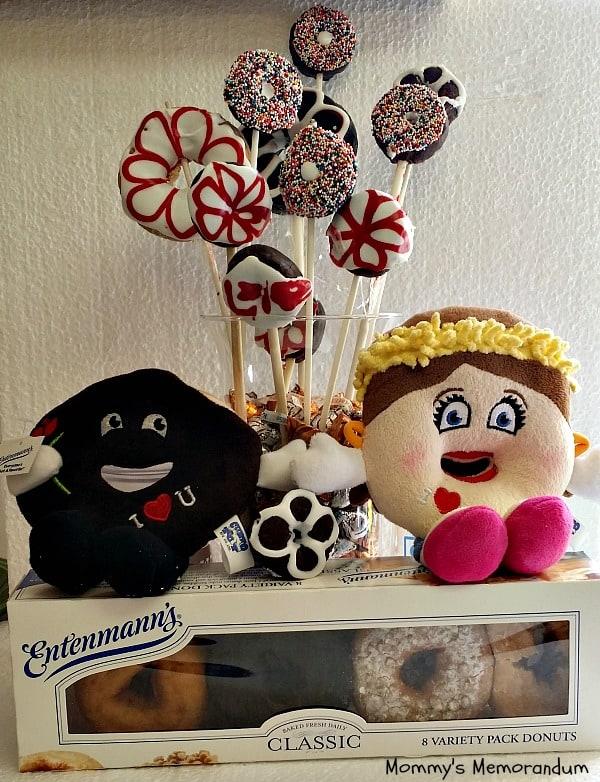 Entenmann's Valentine's Day edible bouquet #tutuorial