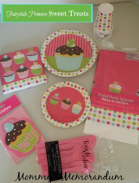 Fairytale Princess Sweet Treats Collection Partyware