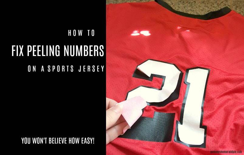 380de55bb How to Fix Numbers Peeling Off A Jersey The Easy Solution