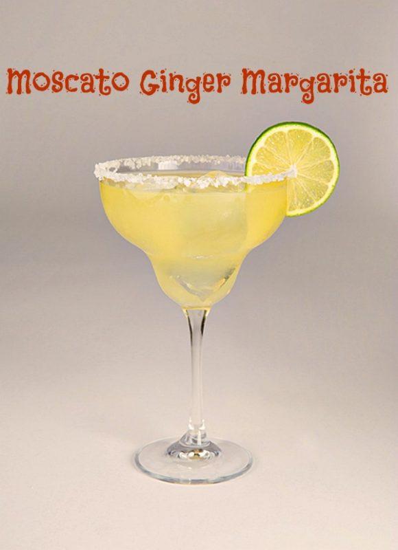 GFV Moscato Ginger Margarita #Recipe