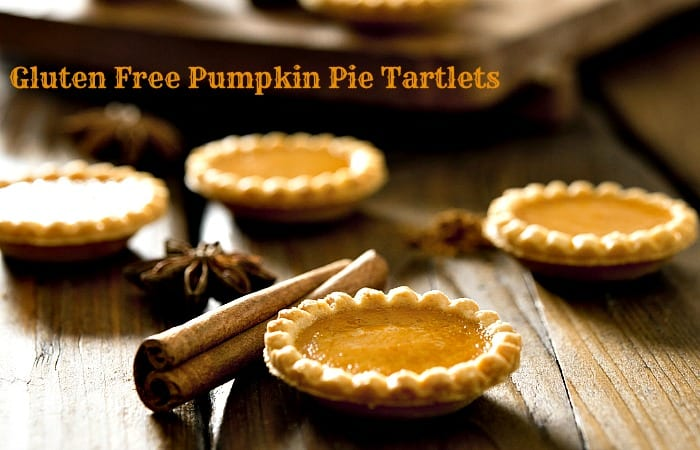 At just 150 calories per tartlet and 4 grams of protein, this gluten-free pumpkin pie tartlets recipe will bring the flavor of fall and the symbol of the feast to your table as a healthier option than the traditional pie. #Glutenfree #pumpkin #pumpkinpie