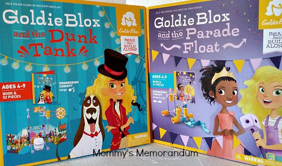 GoldieBlox Giveaway #lookatgoldie