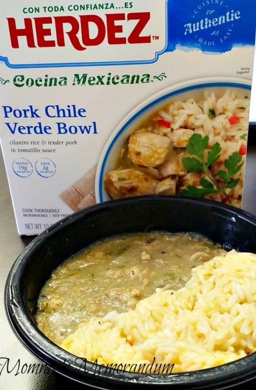 HERDEZ Pork Chile Verde Bowl