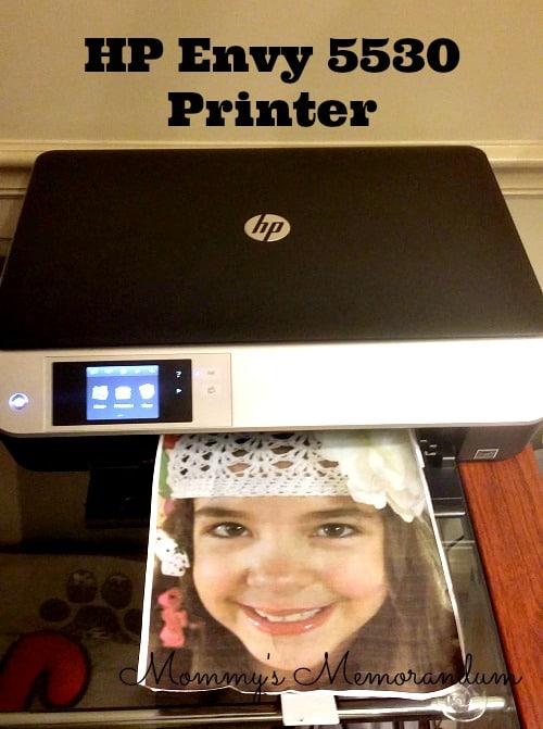 HP Envy 5530 Printer #HPFamilyFun
