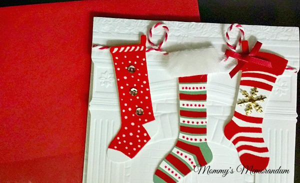 Hallmark The Stockings were Hung boxed card set