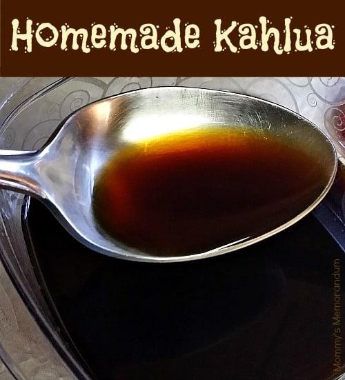 Diy Drinks Food Printables: Homemade Kahlua #Recipe • Mommy's Memorandum