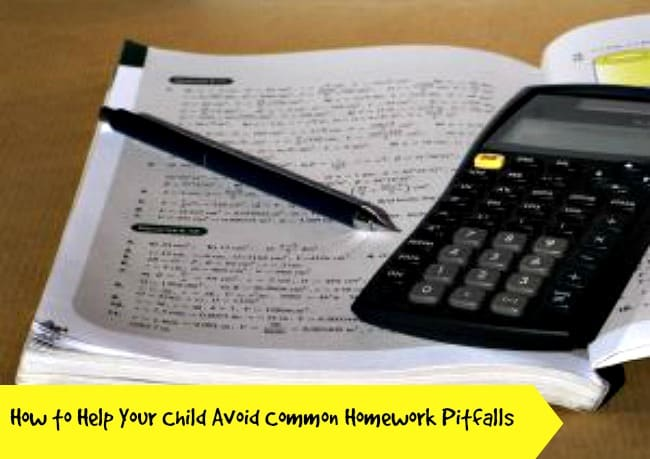 How to Help Your Child Avoid Common Homework Pitfalls