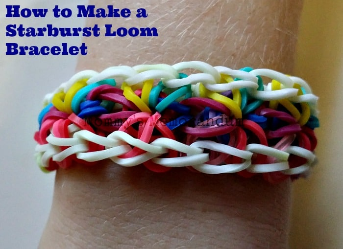 How To Make A Starburst Loom Bracelet Diy Loombracelet