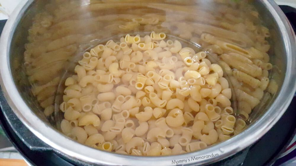 InstantPot Loaded Macaroni and Cheese