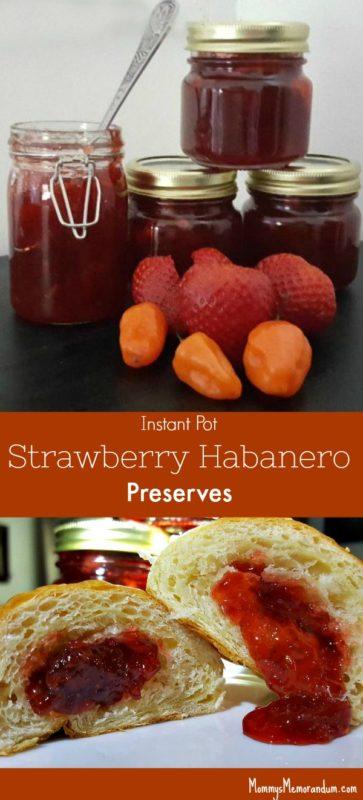 Instant Pot Strawberry Habanero Preserves Pin