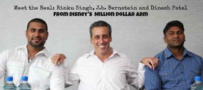 Interview with the real Rinku, Dinesh and JB Bernstein #milliondollararm