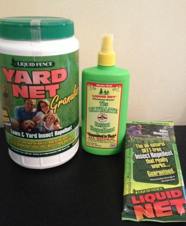 Liquid Net–DEET-Free Insect Repellent