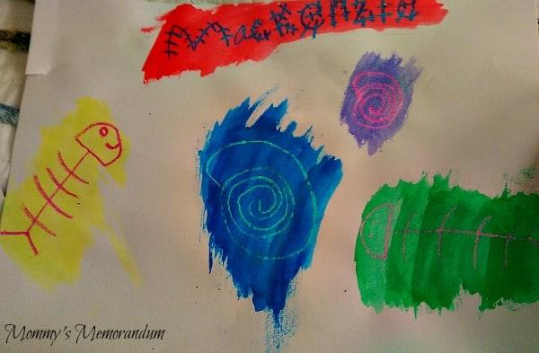 Michael's Passport to Imagination Crayon Resistant Paper