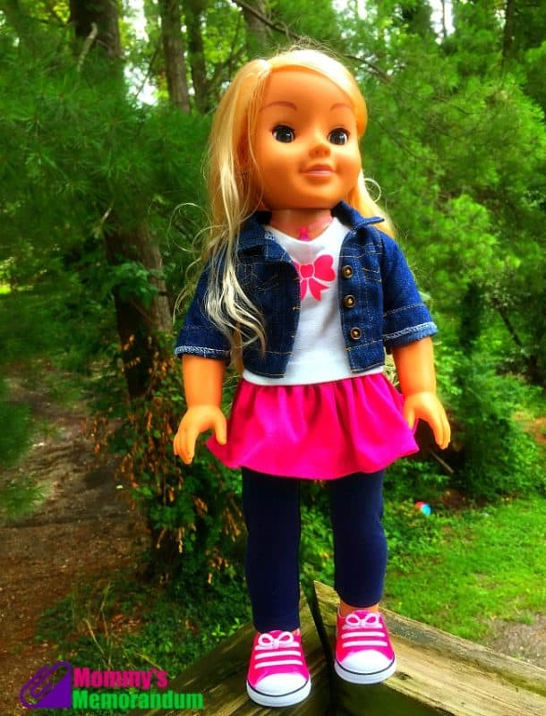 My friend Cayla 17.5-inches tall