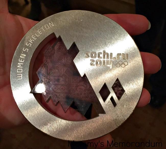 Noelle Pikus Pace's silver medal #coreundiet
