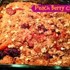 Peach Berry Crisp #Recipe