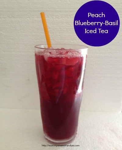 my iced tea dressed as a pomegranate mar tea ni